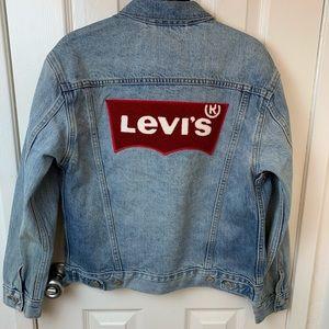 NWT Levi's Ex-Boyfriend Trucker Jacket.XS
